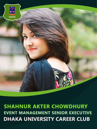 Shahnur Akter Chowdhury - Senior Executive-Dhaka University Career Club