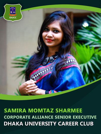 Samira Momtaz Sharmee - Senior Executive-Dhaka University Career Club