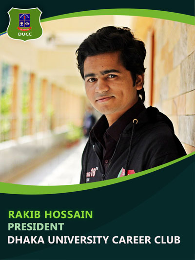 Rakib Hossain - President-Dhaka University Career Club