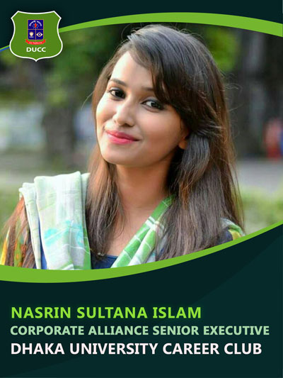Nasrin Sultana Islam - Senior Executive-Dhaka University Career Club