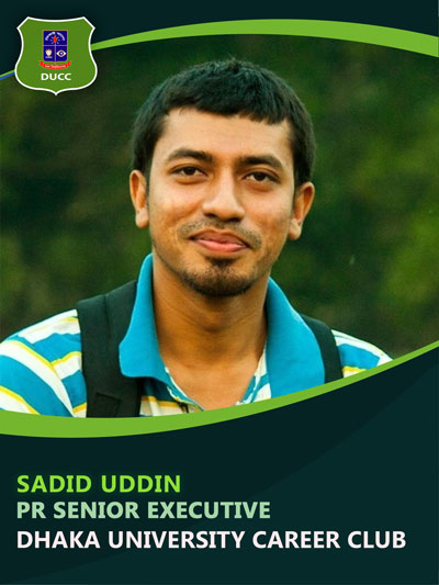 Md. Sadid Uddin - Senior Executive-Dhaka University Career Club