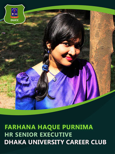 Farhana Haque Purnima - Senior Executive-Dhaka University Career Club