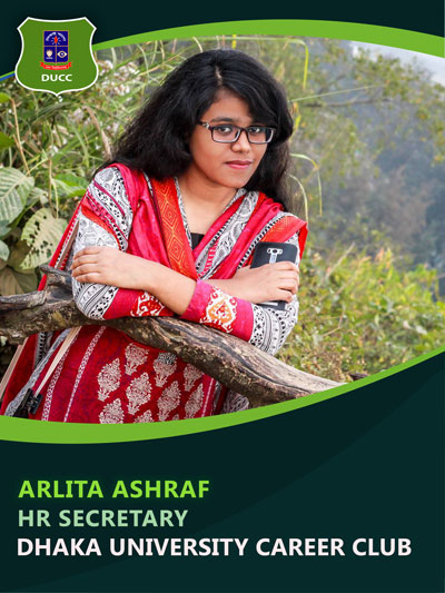 Arlita Ashraf - HR and Administration Secretary-Dhaka University Career Club
