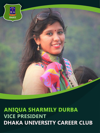 Aniqua Sharmily - Vice President-Dhaka University Career Club