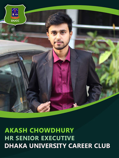 Akash Chowdhury - Senior Executive-Dhaka University Career Club