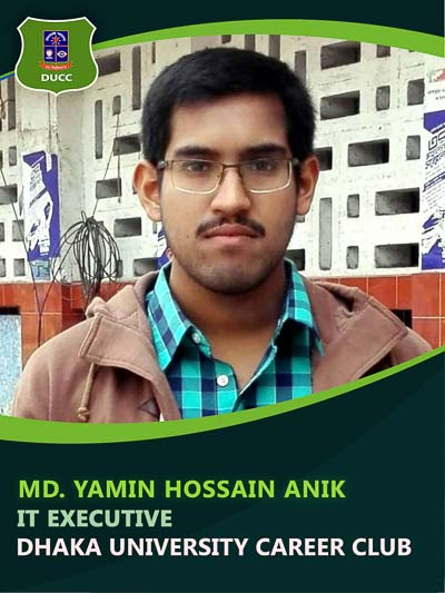 Yamin Anik - Executive-Dhaka University Career Club