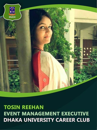 Tosin Reehan - Executive-Dhaka University Career Club