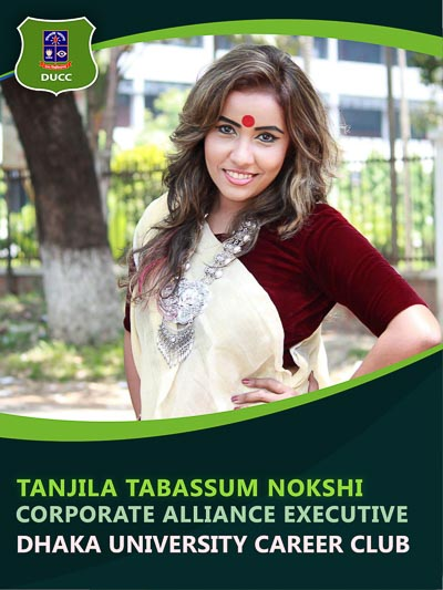 Tanjila Tabassum Nokshi - Executive-Dhaka University Career Club
