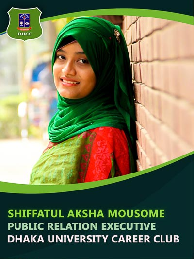 Siffatul Aksha - Executive-Dhaka University Career Club