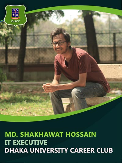 Shakhawat Hossain Faisal - Executive-Dhaka University Career Club