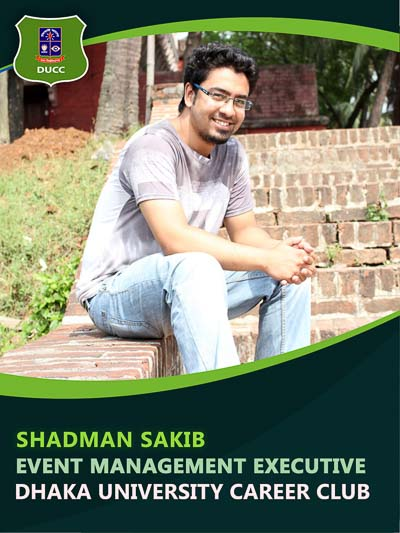 Shadman Sakib - Executive-Dhaka University Career Club