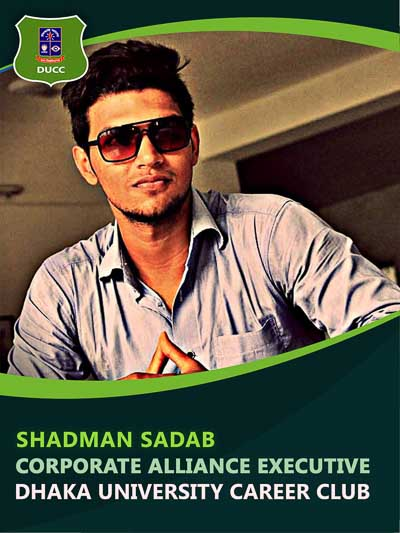 Shadman Sadab - Executive-Dhaka University Career Club