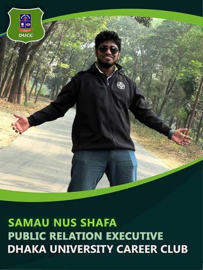 Samau Nus Shafa - Executive-Dhaka University Career Club