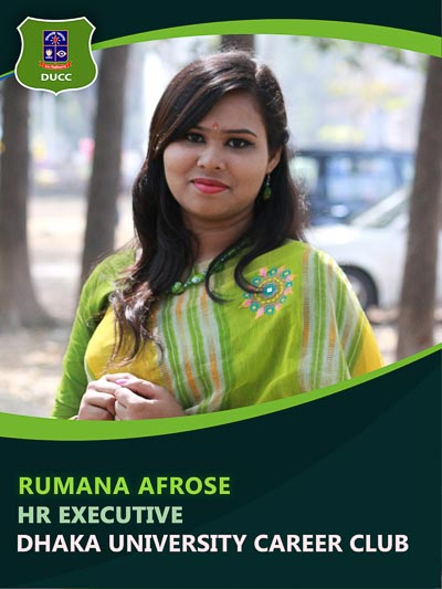 Romana Afrose - Executive-Dhaka University Career Club