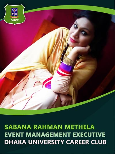 Sabana Rahman - Executive-Dhaka University Career Club