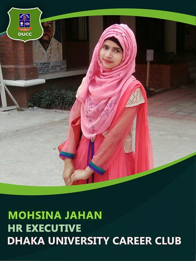 Mohsina Jahan - Executive-Dhaka University Career Club
