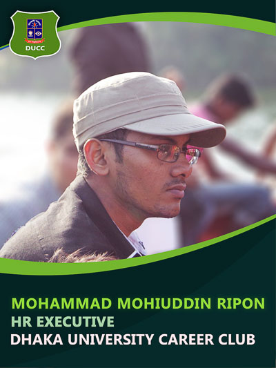 Mohammad Mohiuddin Ripon - Executive-Dhaka University Career Club