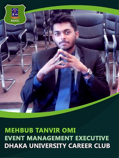 Mehbub Tanvir Omi - Executive-Dhaka University Career Club