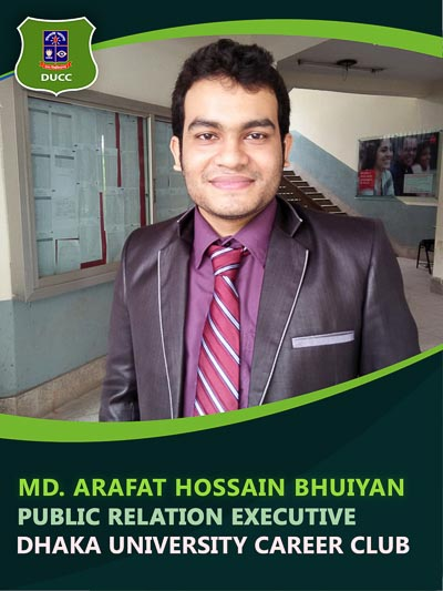Md. Arafat Hossain Bhuiyan - Executive-Dhaka University Career Club
