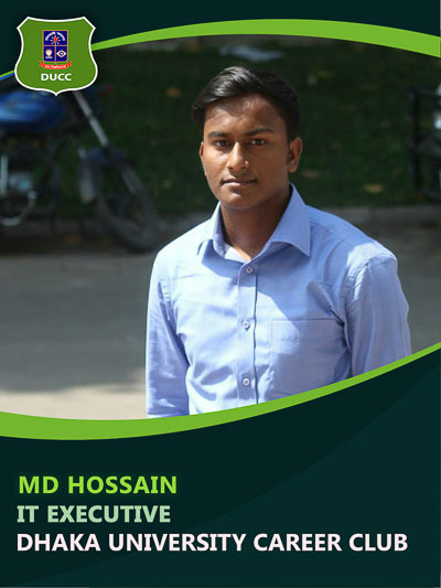 Md Hossain - Executive-Dhaka University Career Club