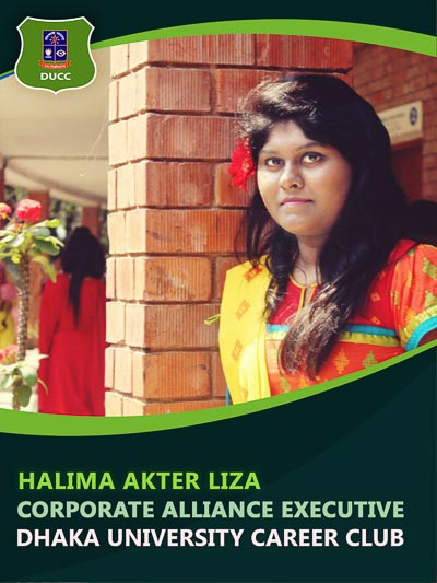 Halima Akter Liza - Executive-Dhaka University Career Club