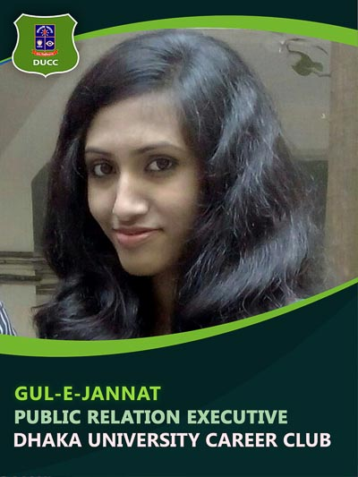 Gul-E-Jannat - Executive-Dhaka University Career Club