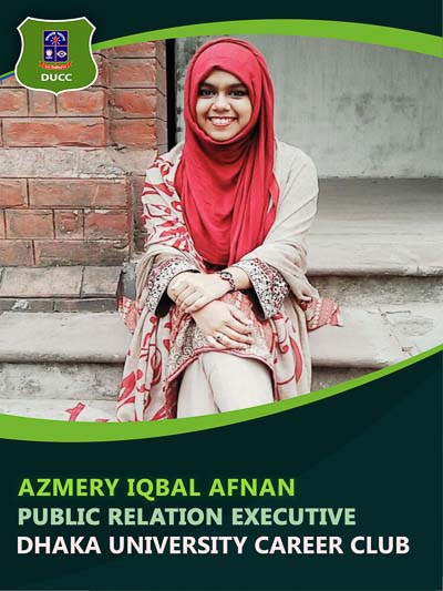 Azmery Iqbal Afnan - Executive-Dhaka University Career Club