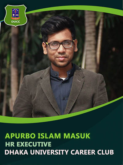 Apurbo Islam - Executive-Dhaka University Career Club
