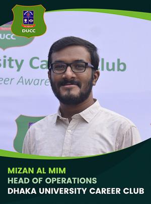 Mizan Al Mim - Head of Operation - DUCC - 2017-18