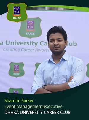 Shamim Sarker - Executive - DUCC - 2017-18