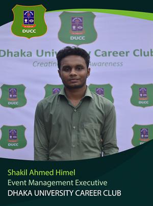 Shakil Ahmed Himel - Executive - DUCC - 2017-18