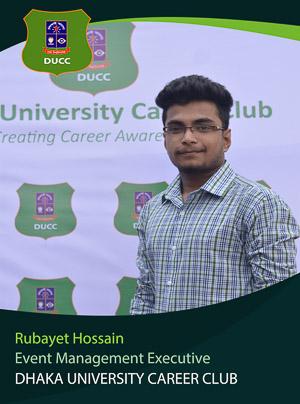 Rubayet Hossain - Executive - DUCC - 2017-18