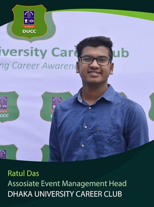 Ratul Das - Associate Wing head - DUCC - 2017-18