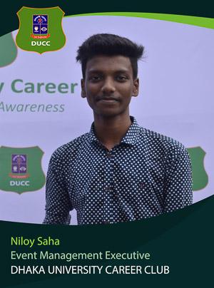 Niloy Saha - Executive - DUCC - 2017-18