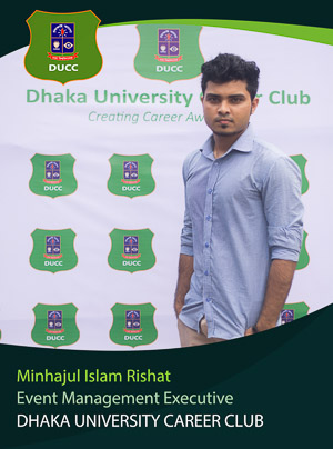 Minhajul Islam Rishat - Executive - DUCC - 2017-18