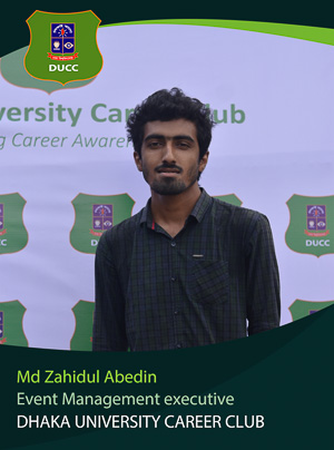 Md. Zahidul Abedin - Executive - DUCC - 2017-18