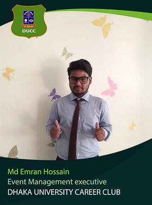 Md. Emran Hossain Apurbo - Executive - DUCC - 2017-18