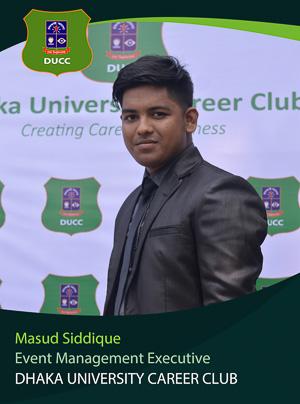 Masud Siddique - Executive - DUCC - 2017-18