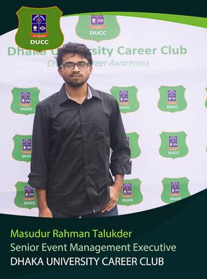 Masudur Rahman Talukder - Senior Executive - DUCC - 2017-18