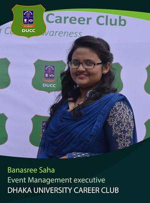 Banasree Saha - Executive - DUCC - 2017-18
