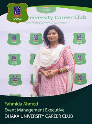 Fahmida Ahmed - Executive - DUCC - 2017-18