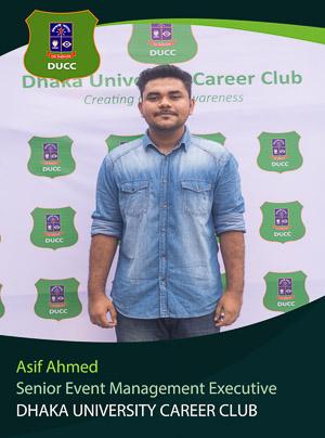 Asif Ahmed - Senior Executive - DUCC - 2017-18