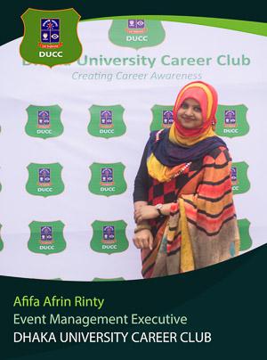 Afifa Afrin Rinty - Executive - DUCC - 2017-18