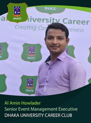 Al Amin Howlader - Senior Executive - DUCC - 2017-18