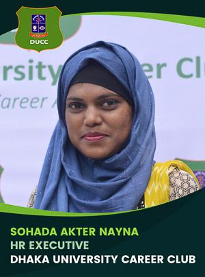 Sohada Akter Nayna - Executive - DUCC - 2017-18
