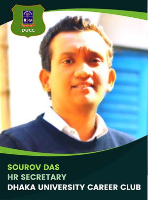 Sourov Das - HR and Administration Secretary - DUCC - 2017-18
