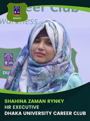Shahina Zaman Rynky - Executive - DUCC - 2017-18