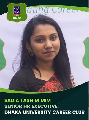 Sadia Tasnim Mim - Senior Executive - DUCC - 2017-18