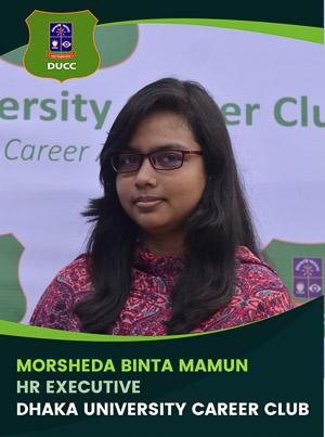Morsheda Binta Mamun - Executive - DUCC - 2017-18