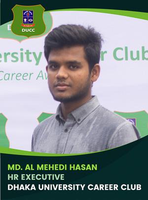Md. Al Mehedi Hasan - Executive - DUCC - 2017-18